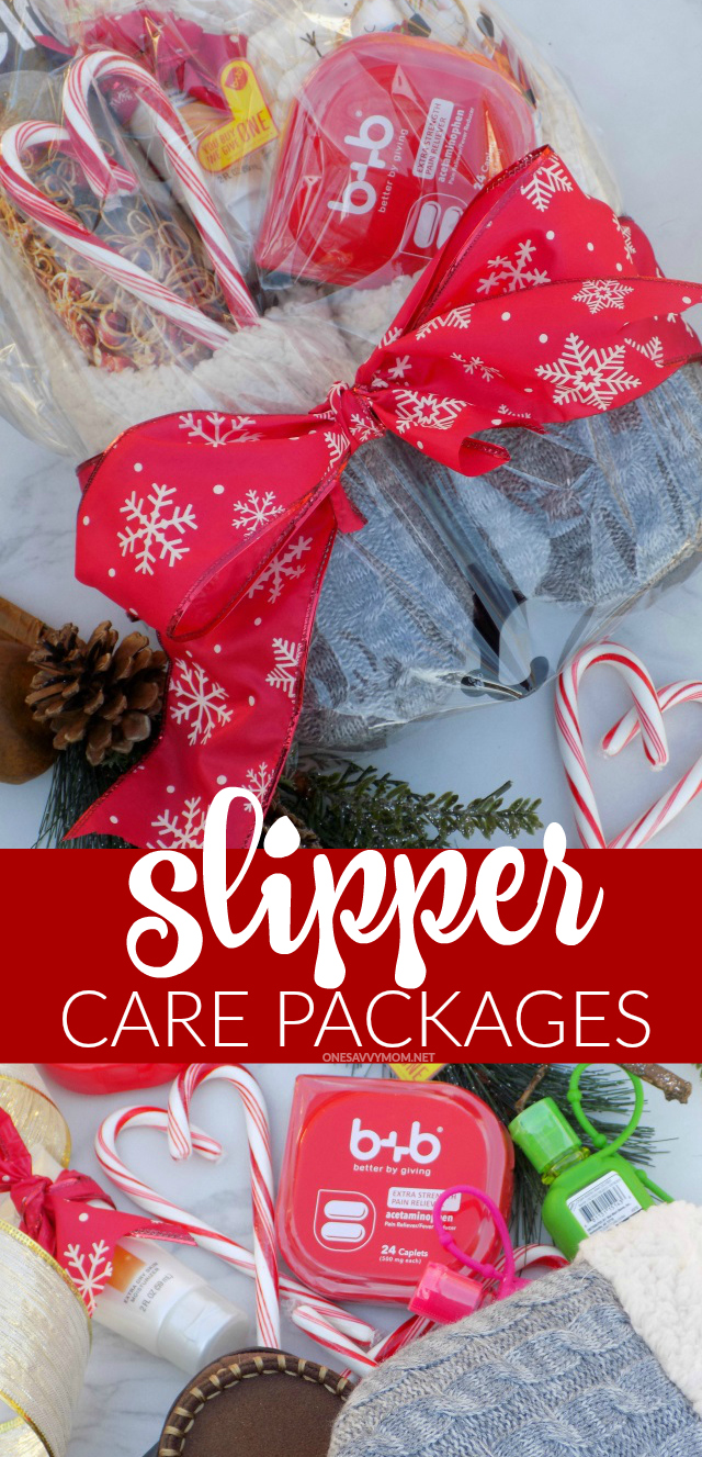 one savvy mom nyc area mom blog diy slipper care packages for