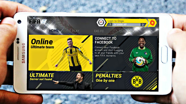 FIFA 14 MOD FIFA 18 Android Offline New Menu High Graphics