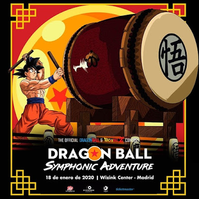 Dragon Ball Symphonic Adventure aterriza en Madrid.