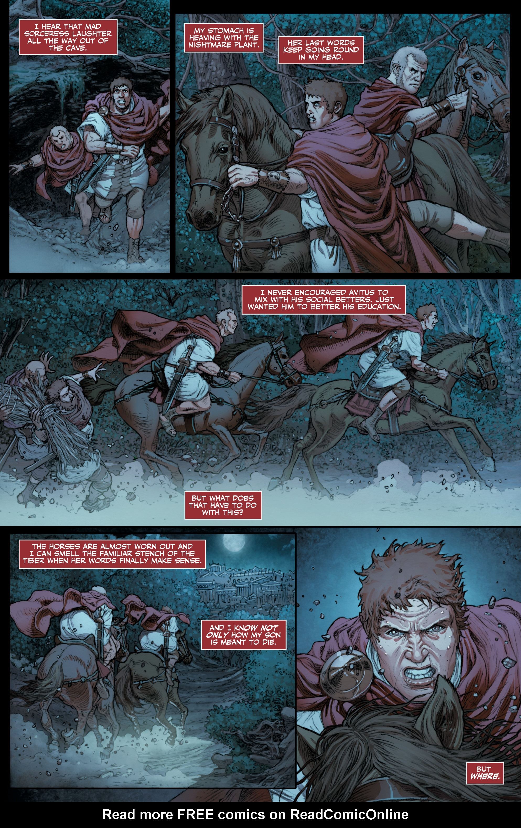 Read online Britannia: We Who Are About To Die comic -  Issue #3 - 24