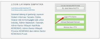 Cara Registrasi GTK Baru Level 2 (VerVal GTK Lv.2) di SIMPATIKA 2018
