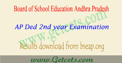AP Ded 2nd year results 2022 manabadi & bseap exams