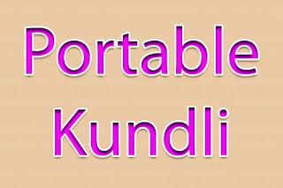 portable kundli