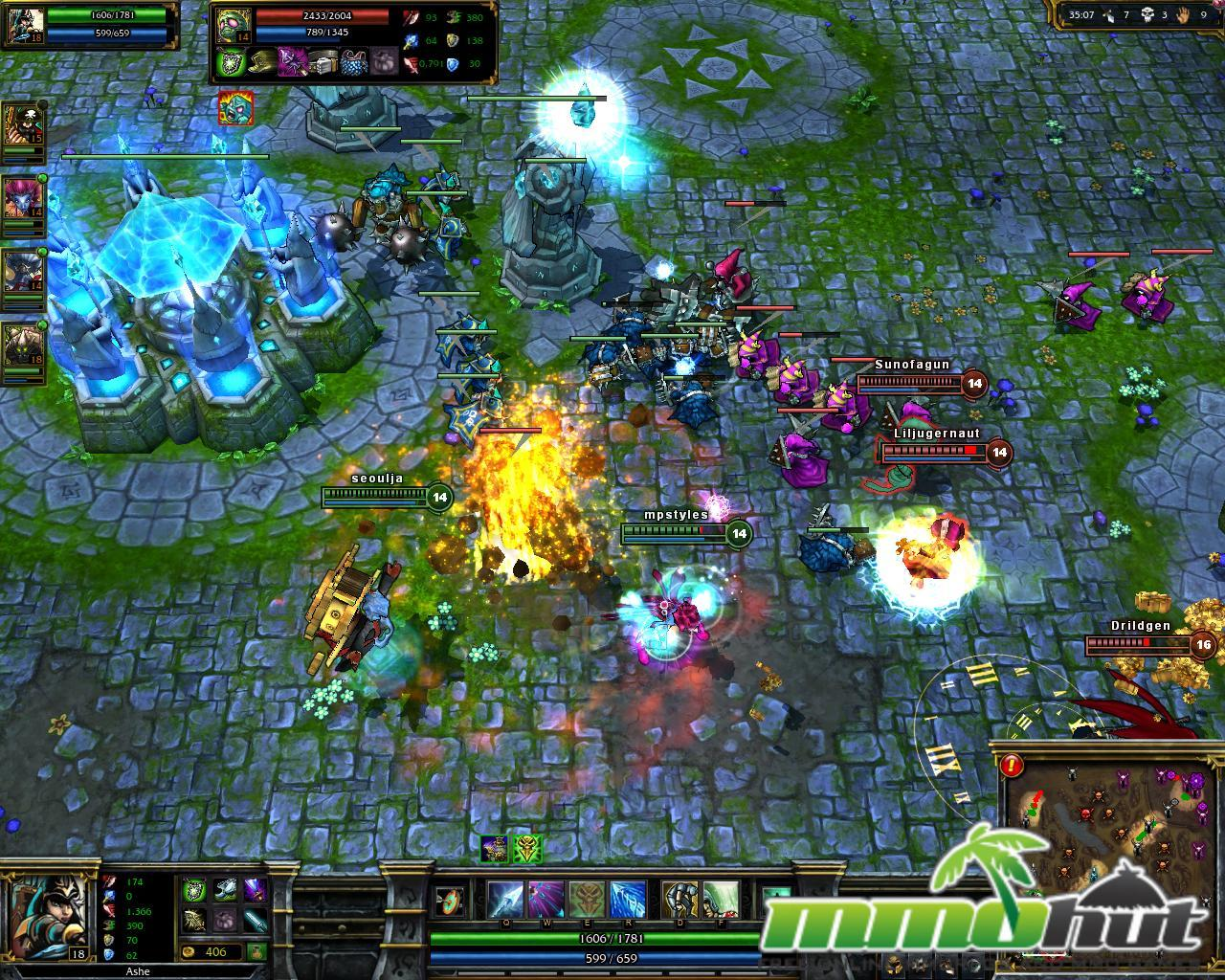 League of Legends and Gaming Theory... Unite!