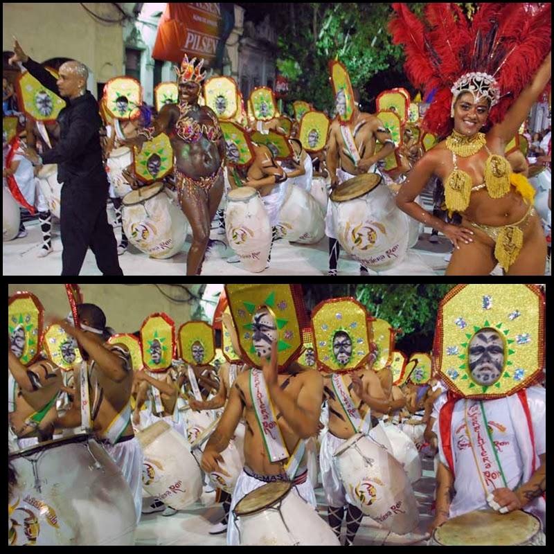 Desfile de Llamadas. La Carpintera Roh Comparsa.