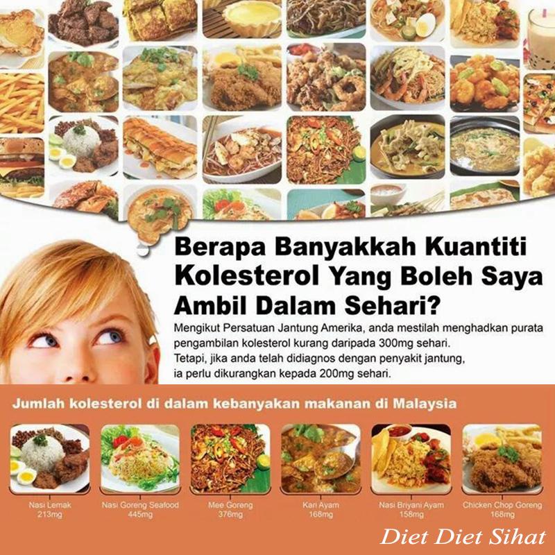 Turunkan Kolesterol dengan Diet Sehat