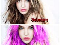 Cara Edit Foto Di Pics Art Tutorial Merubah Warna Rambut