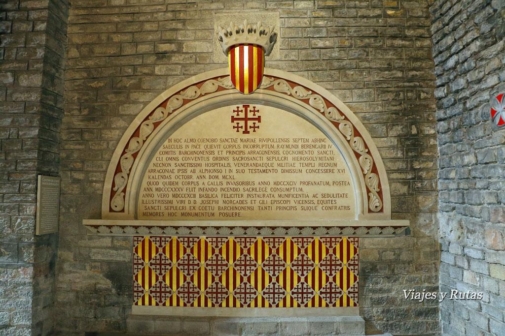 Sepulcros del Monasterio de Santa María de Ripoll