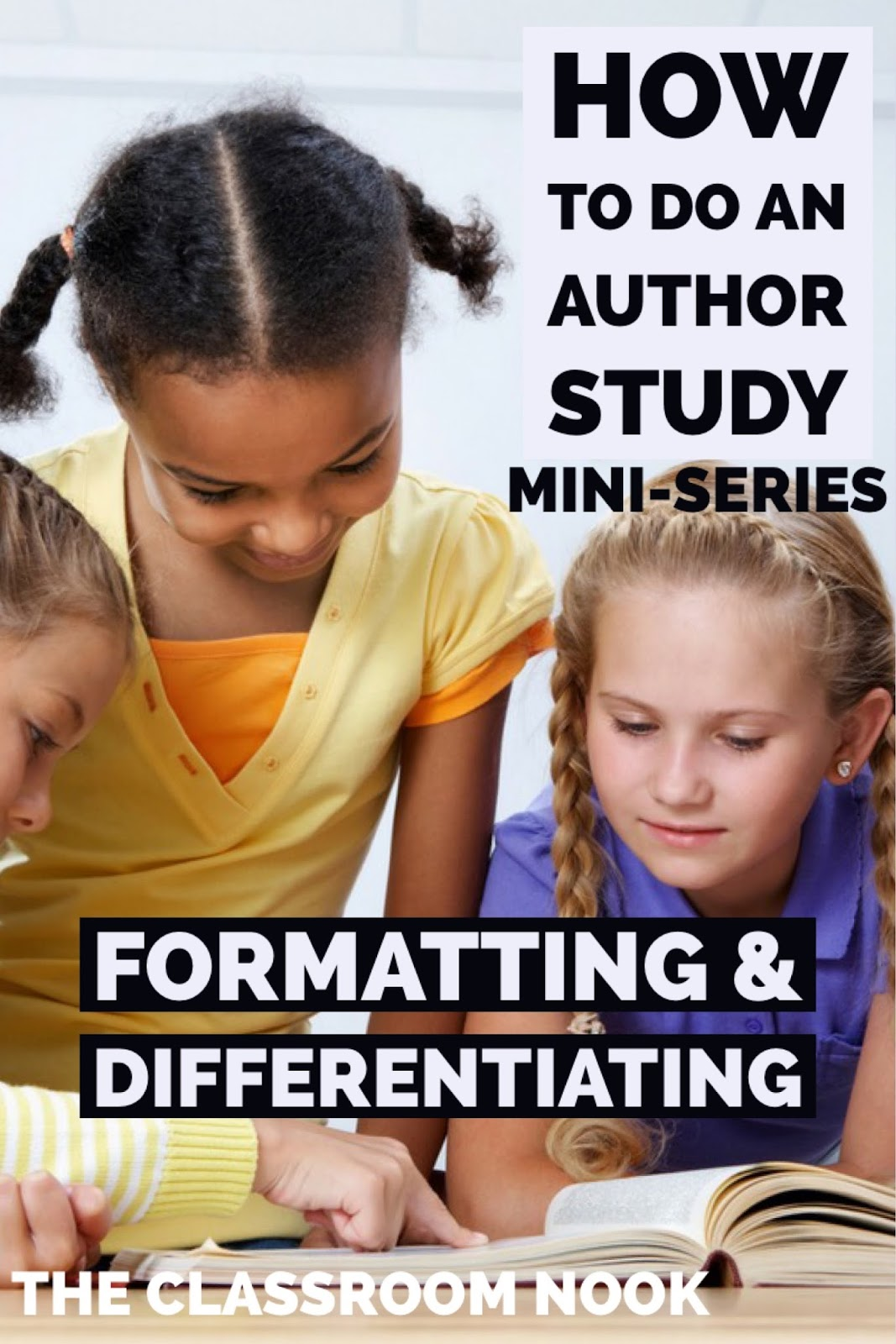 author study This is just a very simple idea i wanted to share about making author posters for your classroom during the book study recently, some of us were talking about author studies author studies can be very, very simple, especially in pre-k i think some teachers feel intimidated when they think of doing an author study because.