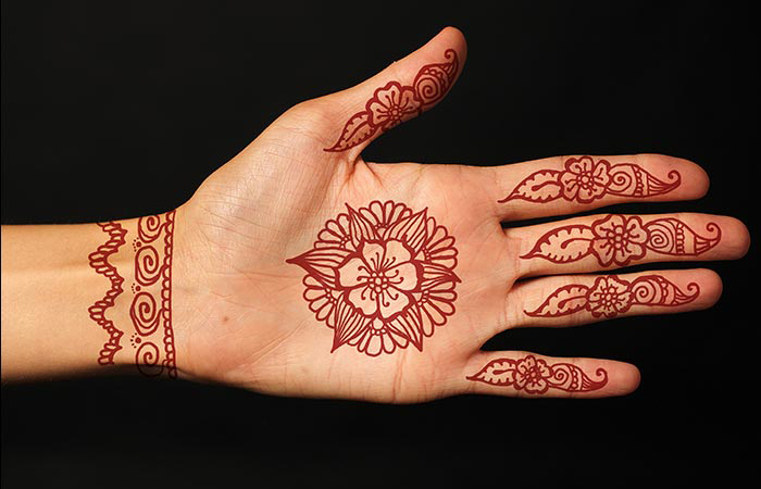 Hands Mehndi Designs for Wedding
