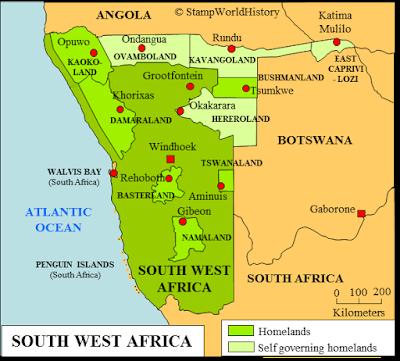 Southwest Afrika