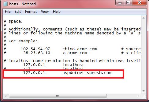 Asp.net host
