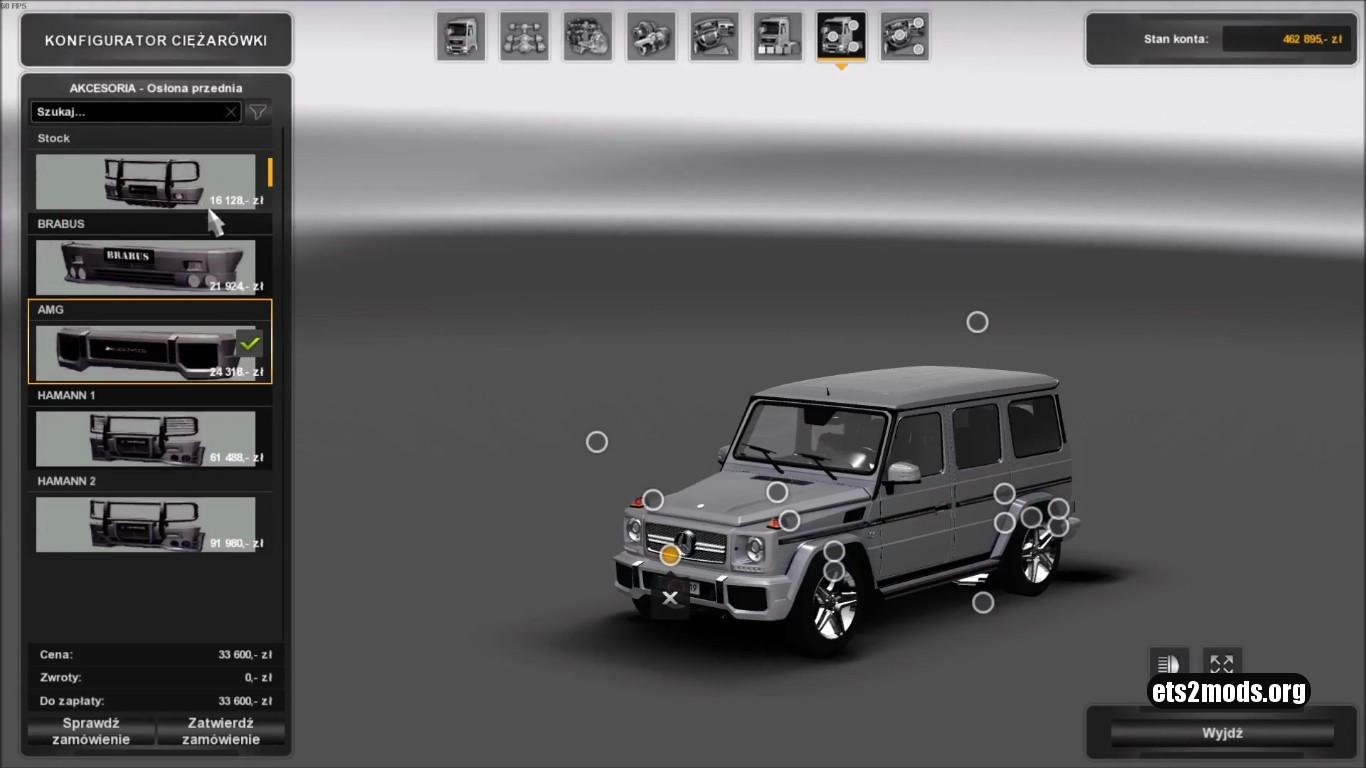 Mercedes Benz G Class [Edited][1.27]