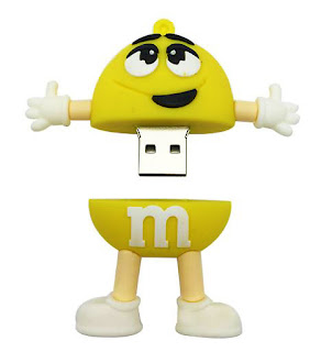 Cartoon M Beans M usb flash card USB flash drive 128GB pendrive stick- Cool Pen drive Models collection