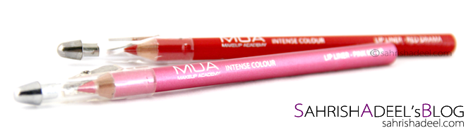 Lip Liners by Makeup Academy - Review & Swatches