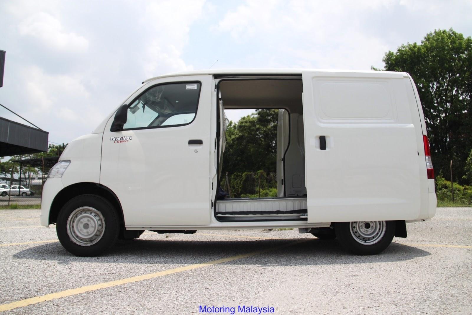 d04ebfc038 Motoring-Malaysia  The Daihastu Gran Max Panel Van with Automatic ...