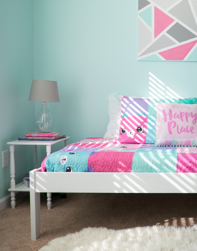 A Sweet Girl's Happy Place Enveloped in Pretty Pastel Colors- design addict mom