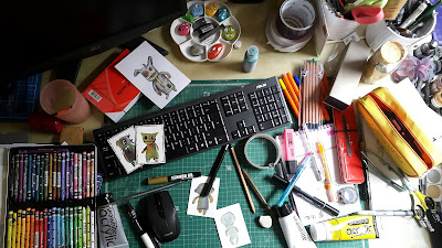 What's On Your Workdesk Wednesday - WOYWW 366