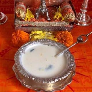 Panchamrut, benefits of Panchamrut,pancha,amrut,ghee,milk,honey,tulsi,basil,tulsi leaves,hinduism,hindu gods,prasadam,prasad,tirtha,curd,tup,butter