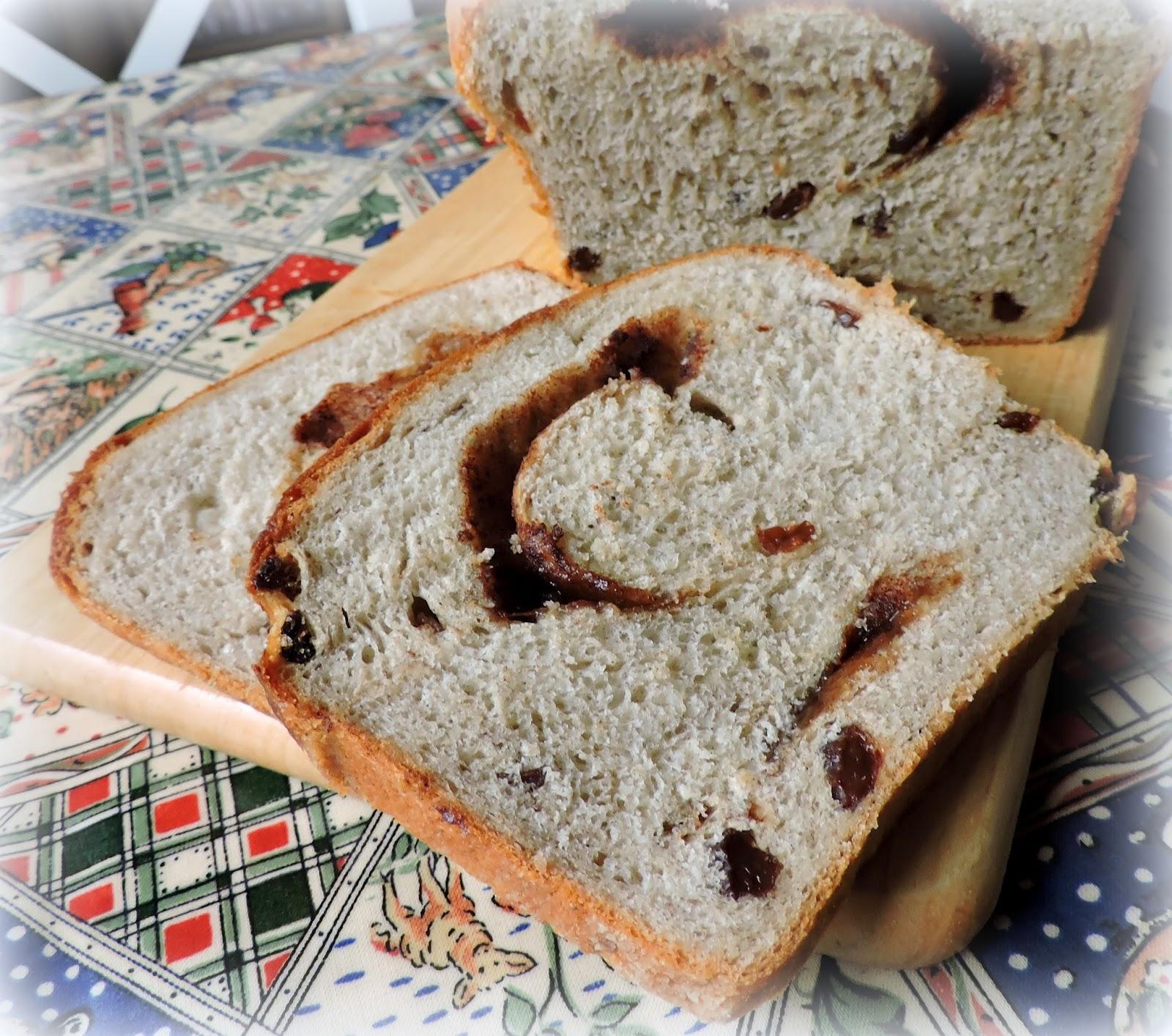 bread machine cinnamon swirl bread