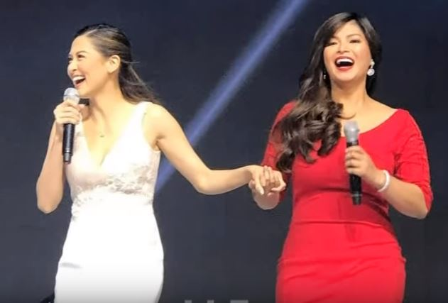 DARNA AND DARNA UNITED: Angel Locsin And Marian Rivera Together For An Avon Event!