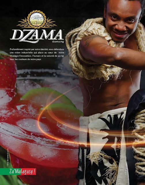 rhums dzama Avril 2018, pleine page magazine Expansion.