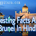 ब्रुनेई देश से जुड़े अनोखे रोचक तथ्य और रोचक जानकारी Brunei Facts In Hindi