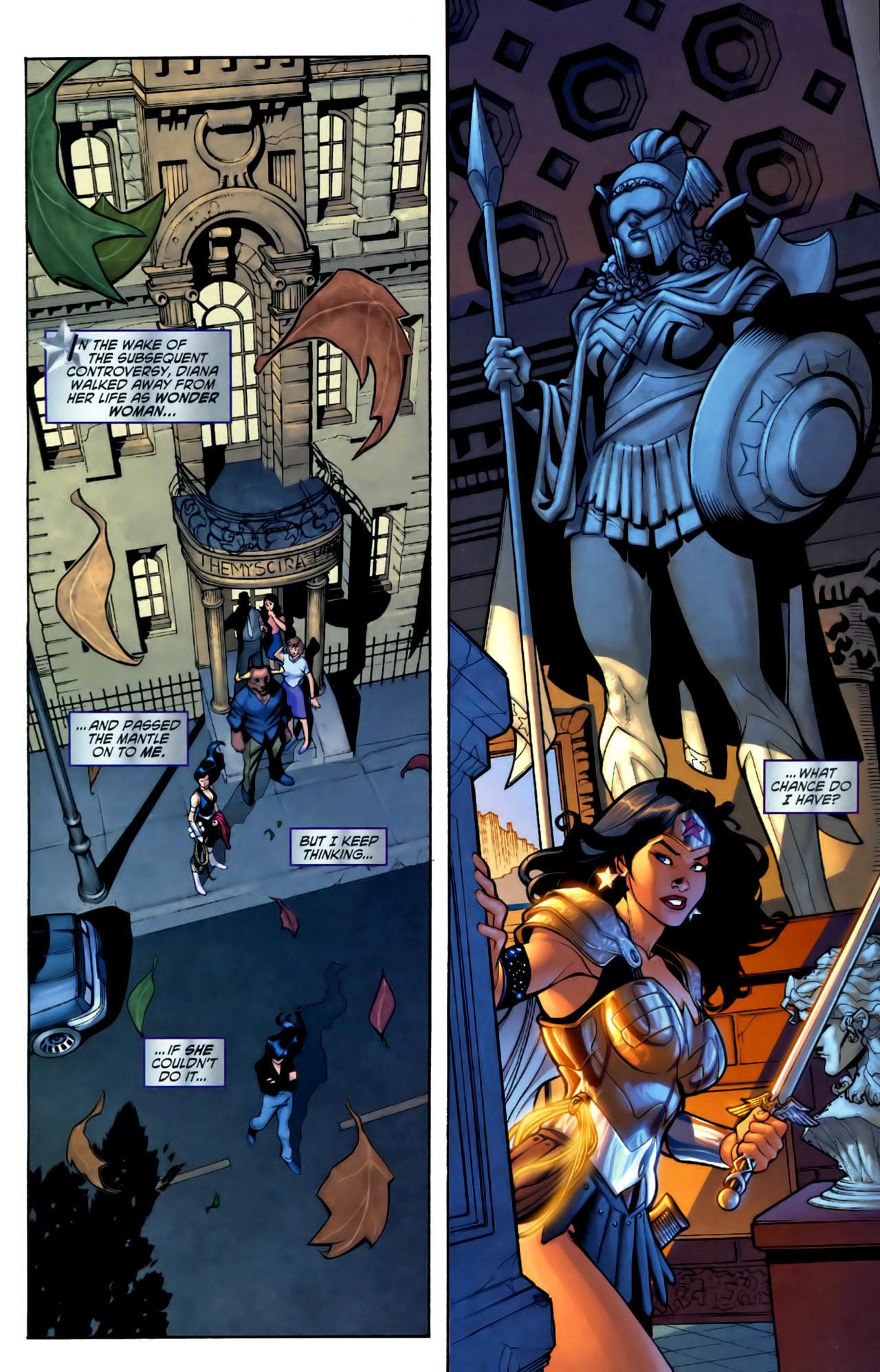 Read online Wonder Woman (2006) comic -  Issue #1 - 8