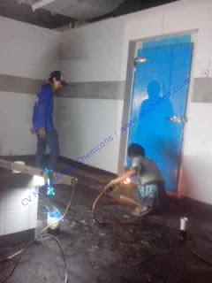 Pekerjaan waterproofing biasa dilakukan pada struktur beton area atap bangunan