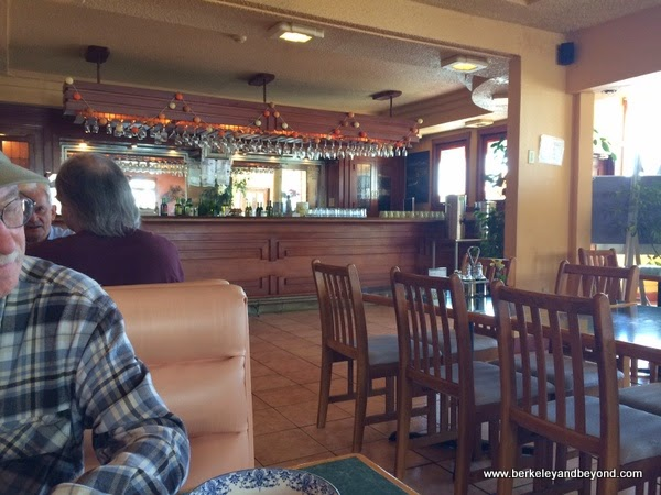 dining room at Potala Vegan Restaurant in Albany, California