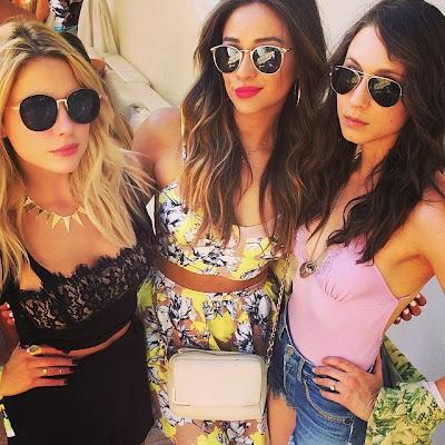 Coachella 2014 Ashley Benson Shay Mitchell Troian Bellissario