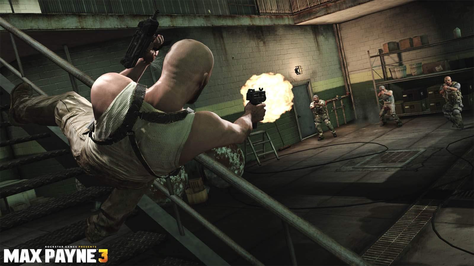تحميل لعبة Max Payne 3 مضغوطة برابط واحد مباشر + تورنت كاملة مجانا
