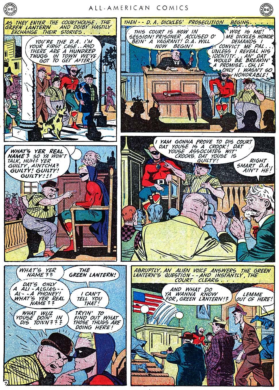 Read online All-American Comics (1939) comic -  Issue #62 - 9