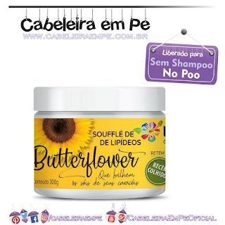 Máscara Butterflower (Soufflé de Lipídeos) - Kah-noa (No Poo)