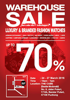 Luxury & Branded Fashion Watches Warehouse Sale