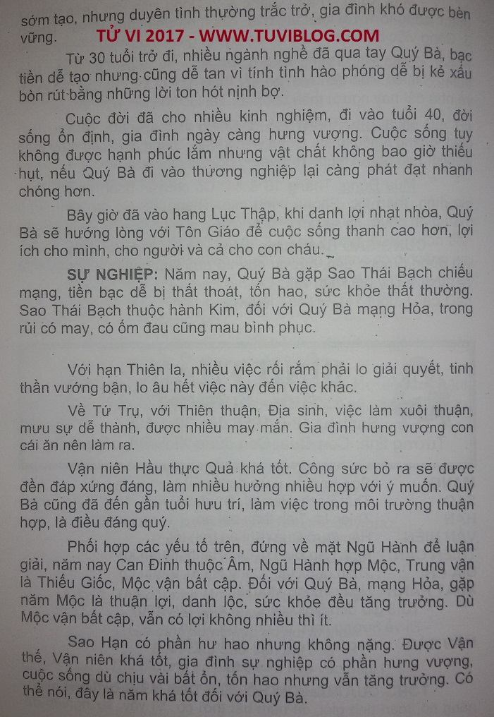 Xem tu vi Binh Than 2017