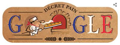 Google Doodle Rayakan Hari Ulang Tahun Roti Baguette Yang Ke 22