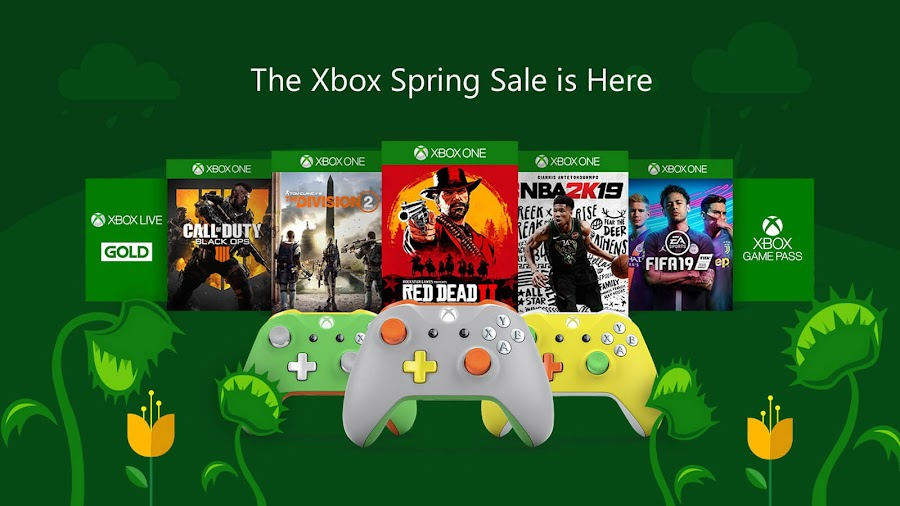 microsoft spring sale xbox game pass 2019