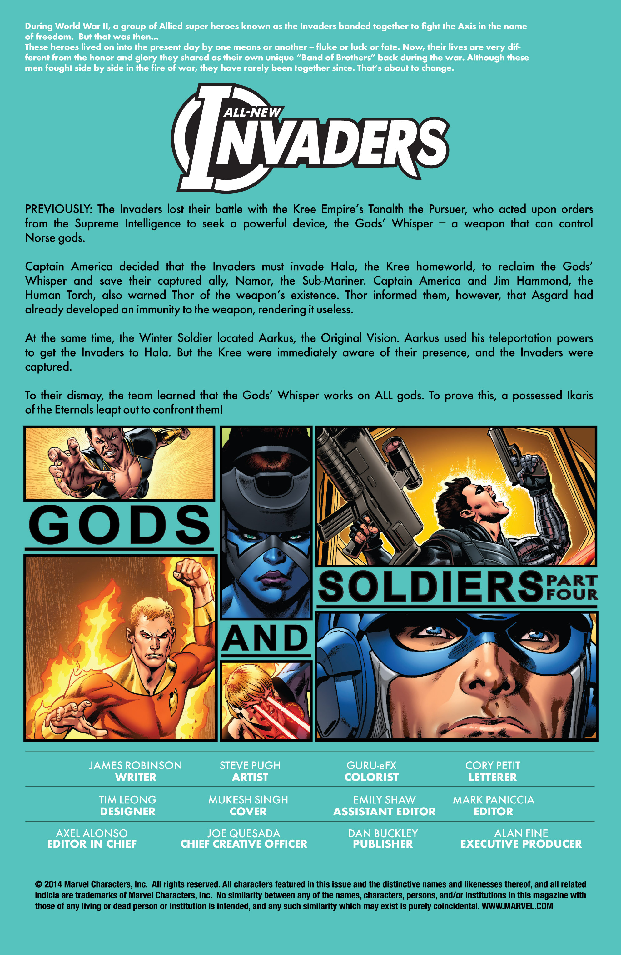 Read online All-New Invaders comic -  Issue #4 - 2