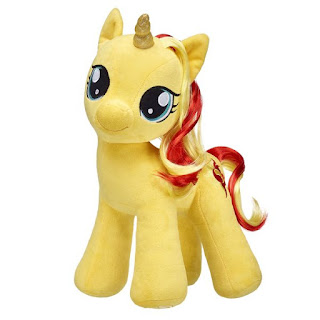 Build a Bear Sunset Shimmer Plushie