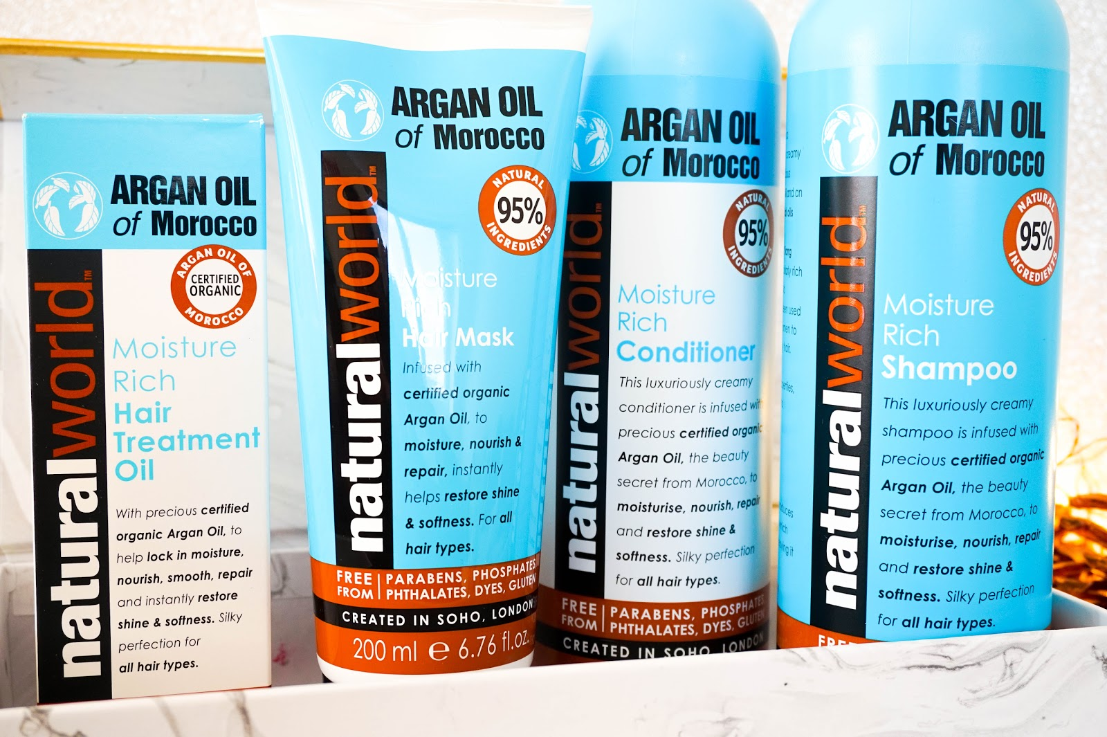 Natural World Argan Oil of Morocco