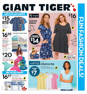Giant Tiger Canada Flyer April 18 - 24, 2018