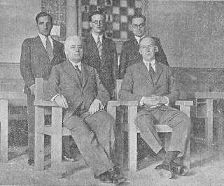 Equipo español seleccionado para el Torneo de las Naciones de Praga 1931