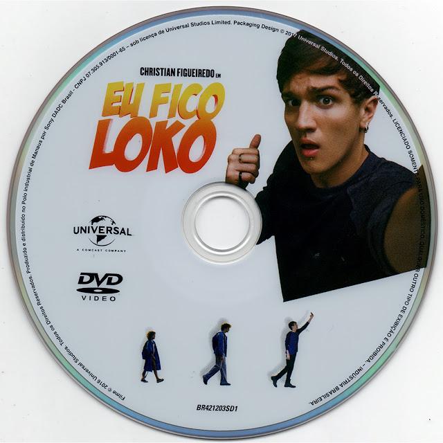 Label DVD Eu Fico Loko (Oficial)