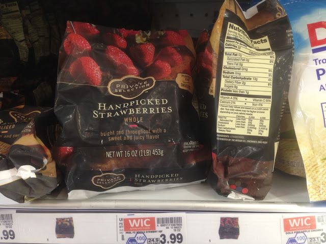 Strawberries, 16 oz, Private Selection - Kroger