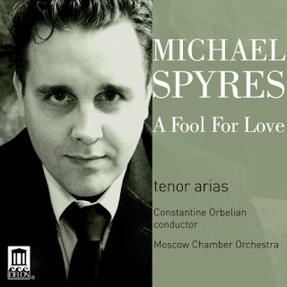 Michael Spyres, A Fool for Love - Delos, DE 3414