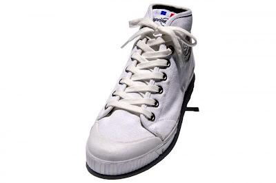 spring court(スプリングコート)B1 MID CUT M WHITE FOX WHITE