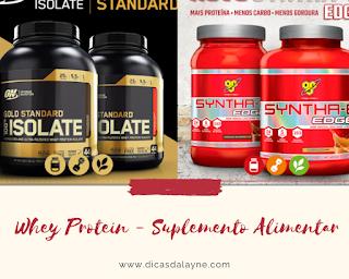 Whey Protein- Suplemento Alimentar