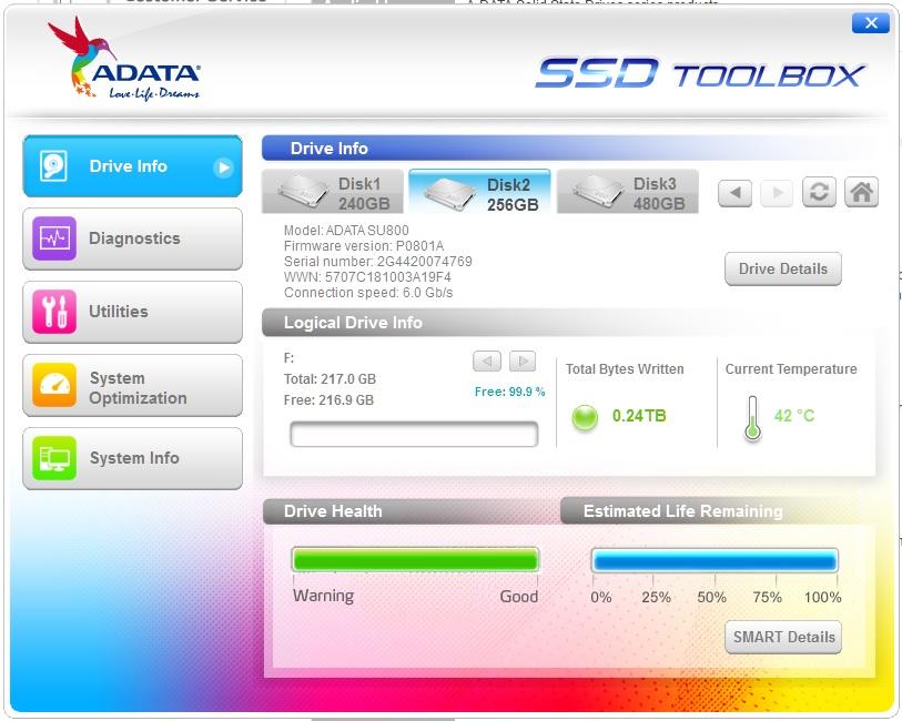 ADATA Ultimate SU800 256GB SSD Review 6