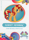 My Little Pony Wave 11 Sunset Shimmer Blind Bag Card